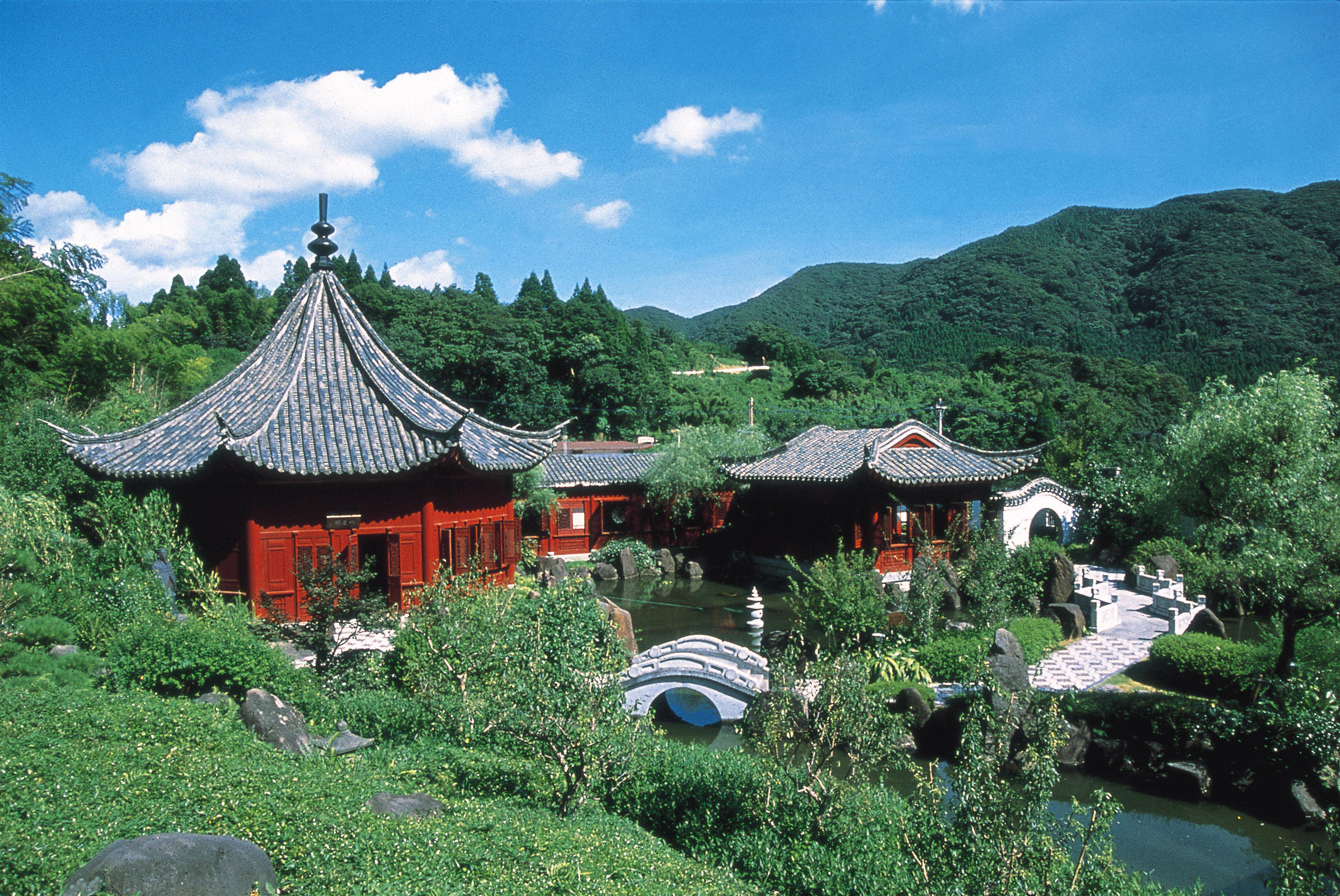 中国風庭園冠嶽園